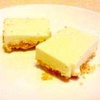 デザートに♪ちょこっとレアチーズケーキ★