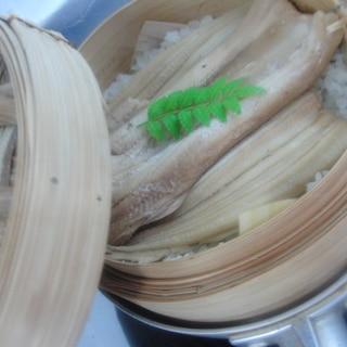 穴子の飯蒸し