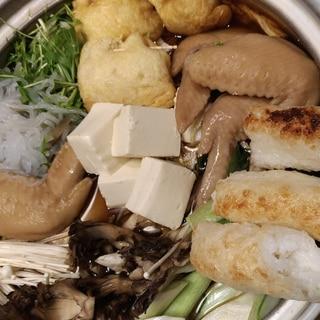 コラーゲンたっぷり☆絶品♪きりたんぽ鍋