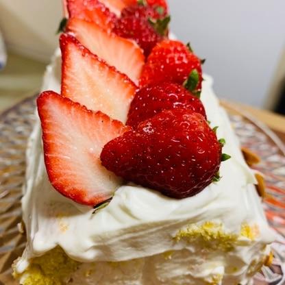 娘のB.Dケーキにしました。