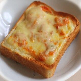 簡単リメイク♪ポテサラ&キムトースト
