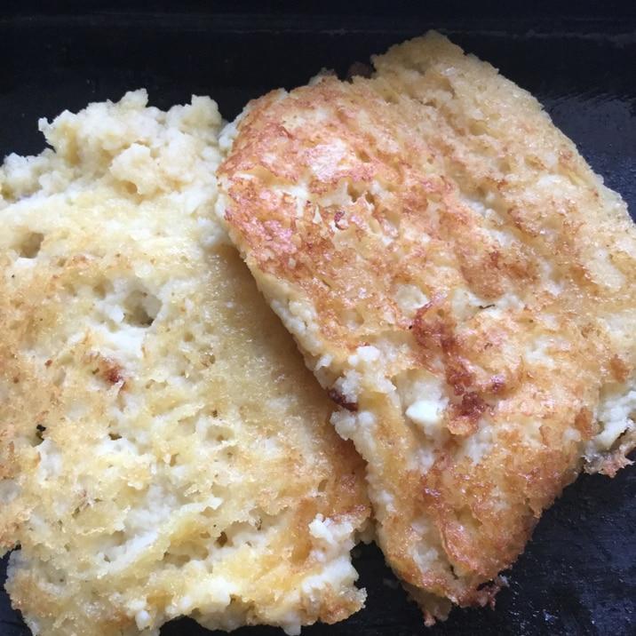 豆腐とココナッツミルクのパンケーキ風