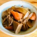 お弁当にも☆豚肉と厚揚げの煮物