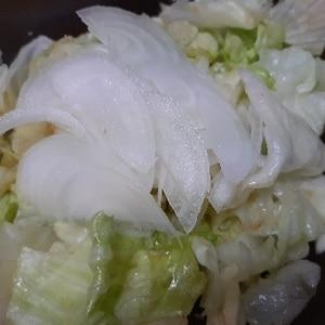 ポリ袋で簡単調理!やみつきレタス♪