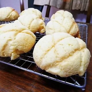 クッキーが美味しいメロンパン
