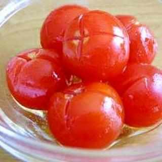 食べやすい★プチトマトの簡単マリネ