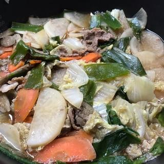 野菜たっぷり煮込みジンギスカン