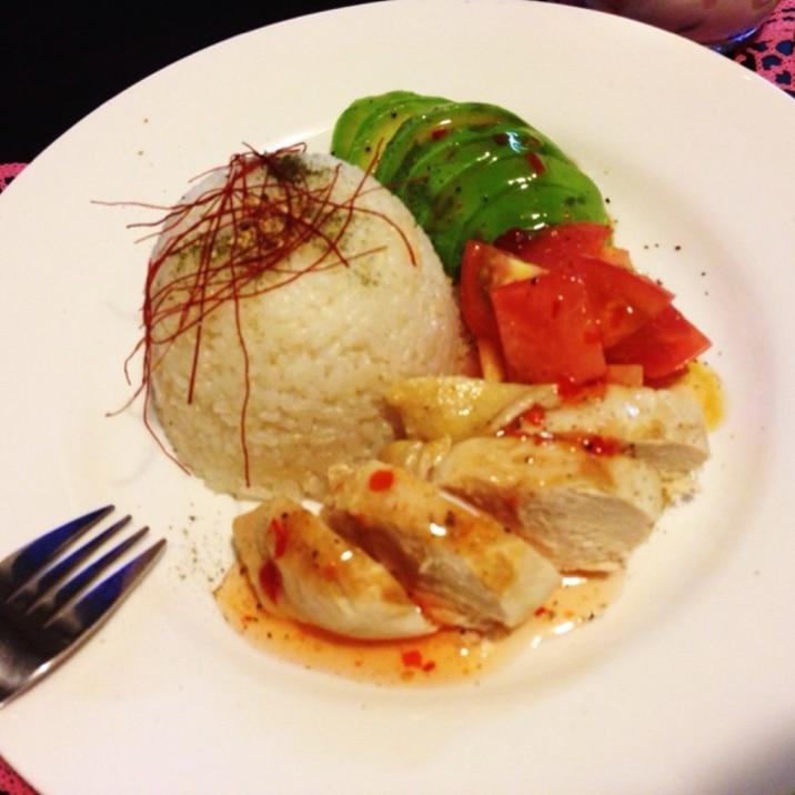炊飯器任せ!シンガポールチキンライス♡