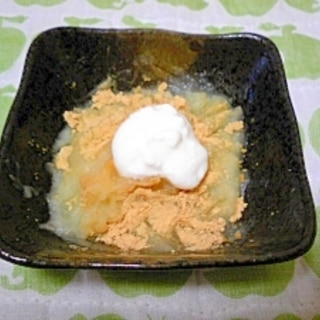 <離乳食初期>きな粉じゃがのヨーグルトソース