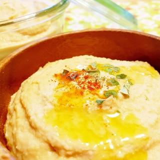 チーズのフムス(ひよこ豆のディップ)
