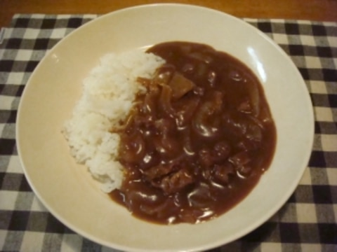 すじ 鍋 牛 カレー 圧力