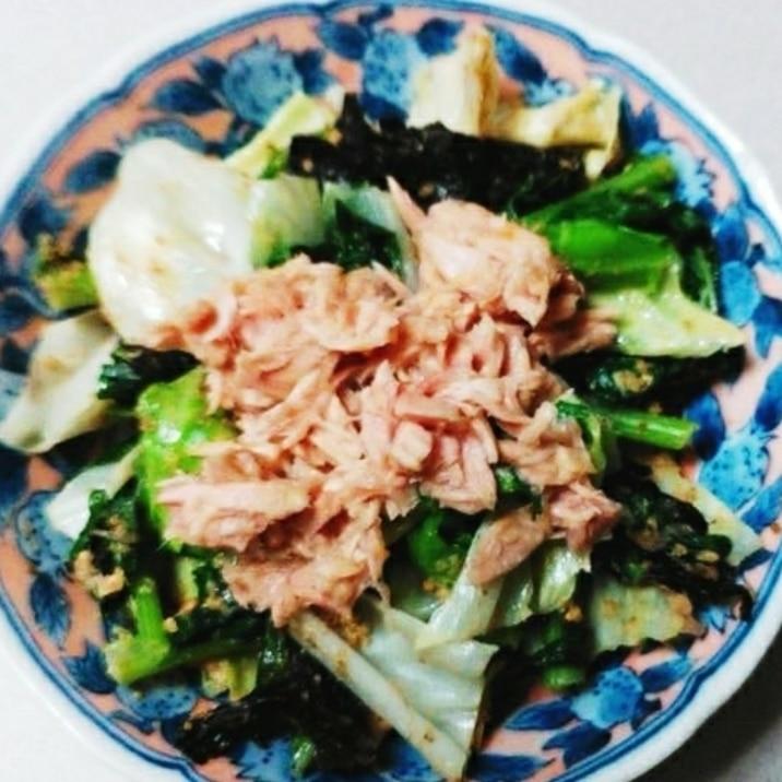 サラダ 小松菜