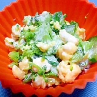 お弁当に☆ブロッコリー&きゅうり&卵のサラダ