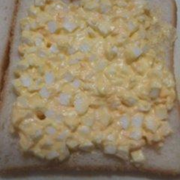 卵サラダの卵の切り方、やってみて!