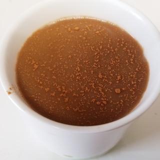 シナモン香る★練乳と紅茶豆乳のHOTコーヒー