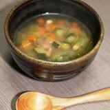 簡単!野菜たっぷりコンソメスープ