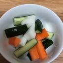 かんたん酢で野菜のピクルス漬け