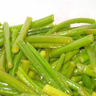 にんにくの芽だけの炒め物