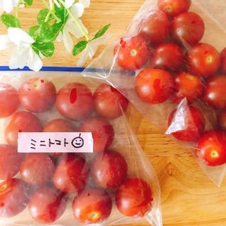 ミニトマト(プチトマト)冷凍保存✧˖°