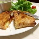 マッシュポテトとミートソースのトロトロチーズパイ