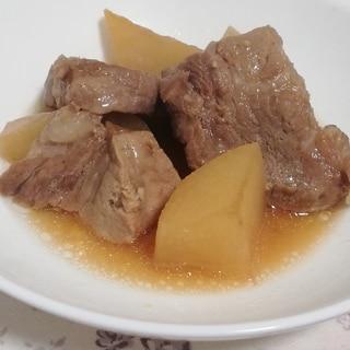 炊飯器で簡単ヘルシー♪豚肩ロースと大根のさっぱり煮