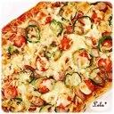 ファミリーサイズのピザパン