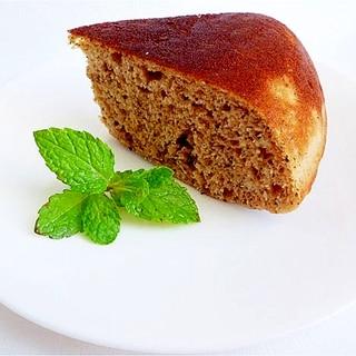 炊飯器で ホットケーキミックスと紅茶の豆乳ケーキ