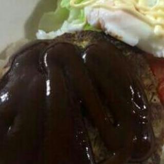牛ひき肉のハンバーグ