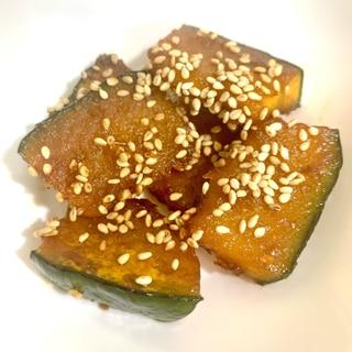 【簡単】かぼちゃの甘辛炒め