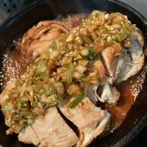 焼き揚げで作る油淋鶏(ユーリンチー)