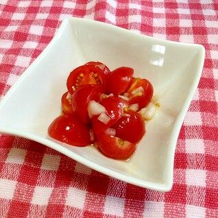 お家にある調味料で作れる☆ミニトマトのマリネ