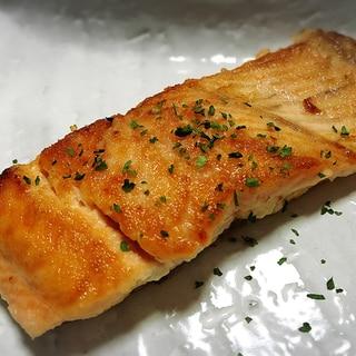 カリッと焼き上げ☆桜鱒のムニエル