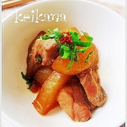炊飯器で超簡単☆豚肉と大根の煮物♪