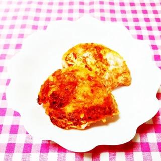 卵1/2個使用♪トマトジュースのフレンチトースト