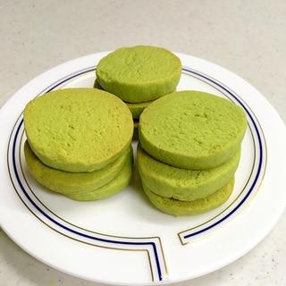 サクサク★おからクッキー抹茶味