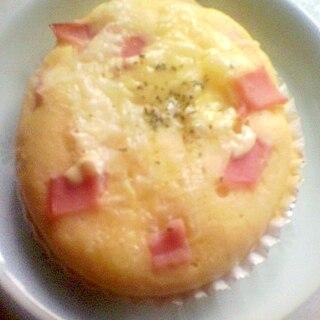 ホットケーキミックスでハムチーズパン
