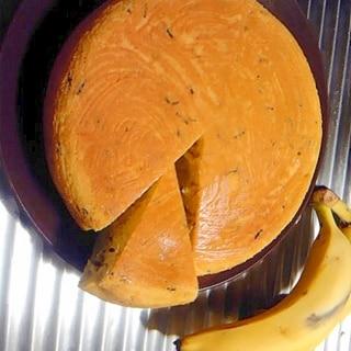 炊飯器とHMで簡単バナナ紅茶ケーキ