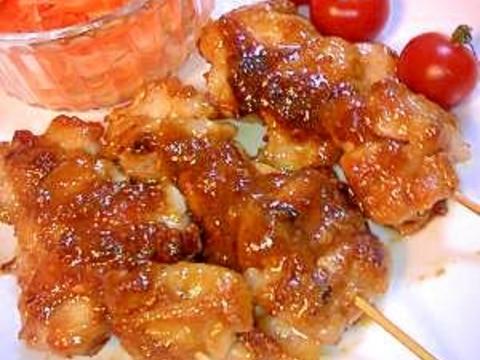 サテー風焼き鳥♡ピーナッツバターDEバリ島の味♡