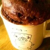 レンジでもこふわ♪マグカップでHMココアケーキ