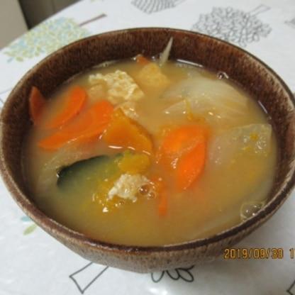 優しい南瓜の味わいで美味しく作ることが出来ました。\(^o^)/