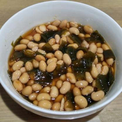 煮豆好きな1歳の子供のために作りました。何度もおかわりを求められました^^美味しいかったです♪