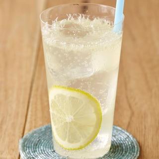 はちみつレモンのしゅわしゅわドリンク