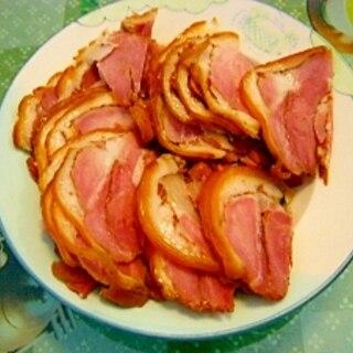 皮付け煮豚