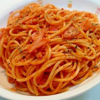 クレソルで サワークリーム入りトマトパスタ