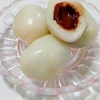 アーモンドチョコ白玉