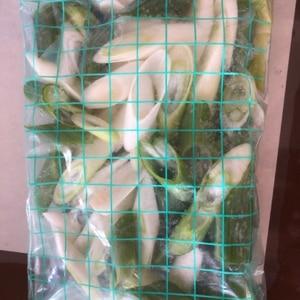 便利な、長ネギの冷凍保存。