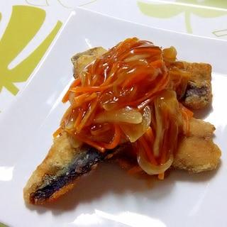 秋刀魚の甘酢あんかけ++