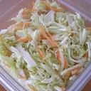 作り置き 切り干し大根入り千切りサラダ