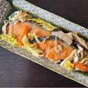 フライパンで簡単★鮭のちゃんちゃん焼き