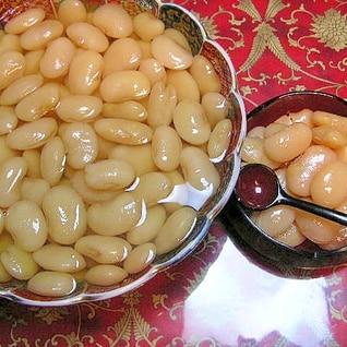 圧力鍋で白花豆の簡単煮